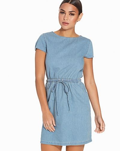 Miss Selfridge Cap Sleeve Denim Dress