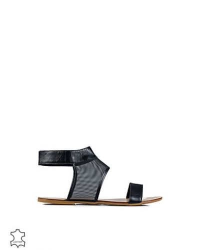 Pieces Cath Leather Sandal