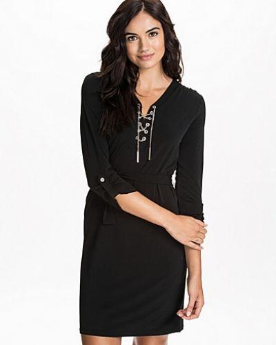 Chain Tie Dress MICHAEL Michael Kors långärmad klänning till dam.