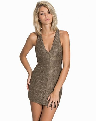 Fodralklänning Chainmail Bodycon Dress från Topshop