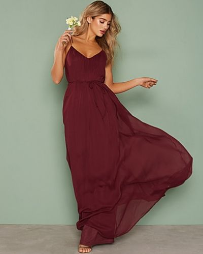 Nly Eve Chiffon Tie Gown