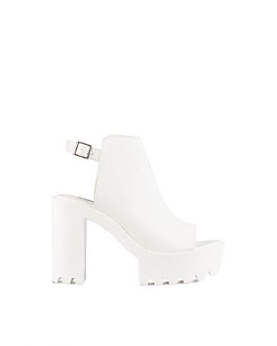 Nly Shoes Chunky Open Heel Boot