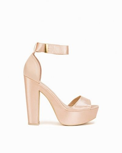 Nly Shoes Chunky Satin Sandal