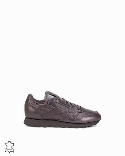Grå sneakers från Reebok Classics till dam.