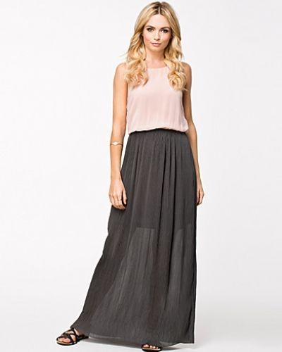 ONLY Clarise Plisse Maxi Dress
