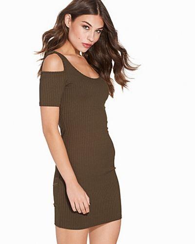 Topshop Cold Shoulder Mini Dress
