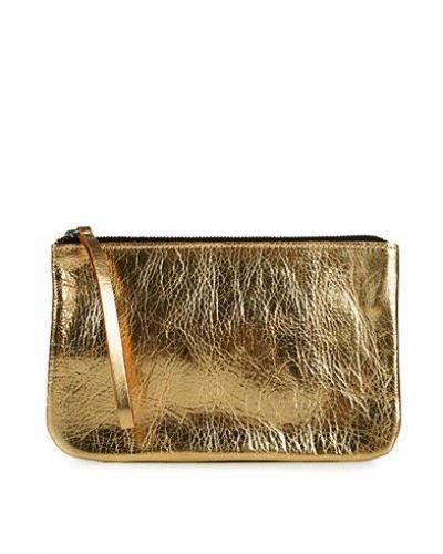 Color Sia Leather Clutch från Pieces, Clutch-Väskor
