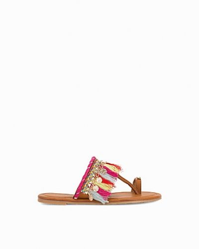 Nly Shoes Colorful Tassel Sandal