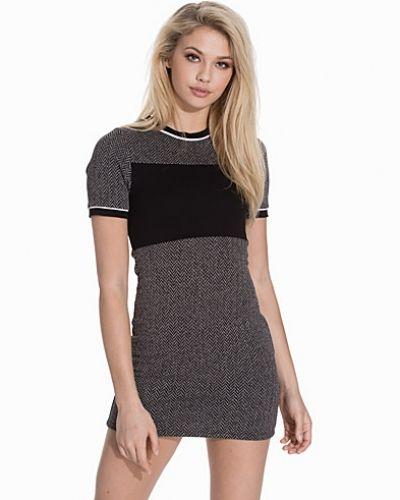 Topshop Colour-Block Mini Dress