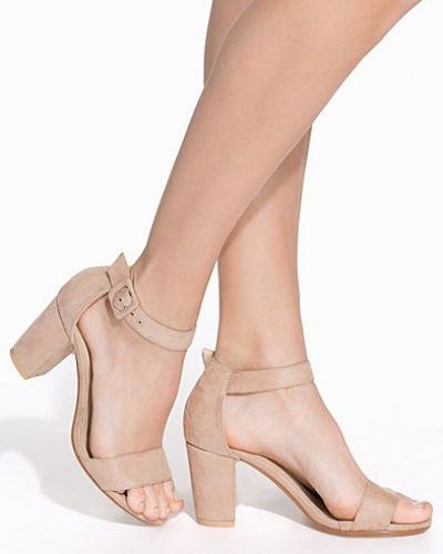 Mid-klack Comfy Block Heel Sandal från Nly Shoes