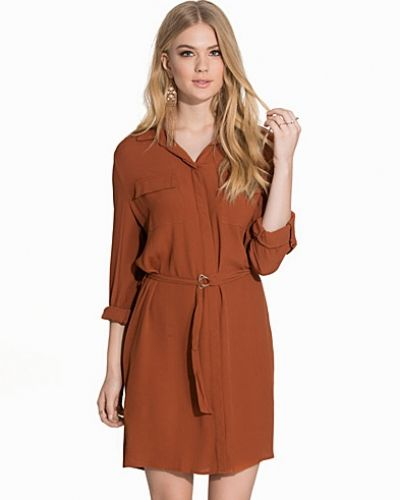 New Look Concealed Placket Shirt Dress