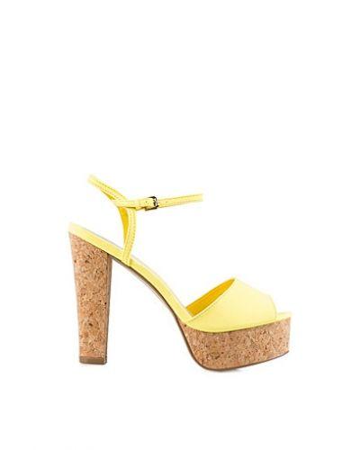 Nly Shoes Cork Heel Sandal