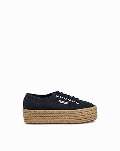 Blå sneakers från Superga