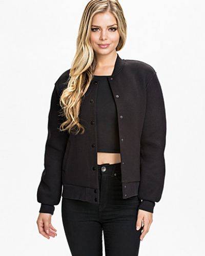T By Alexander Wang Cotton Neoprene Varsity Jacket