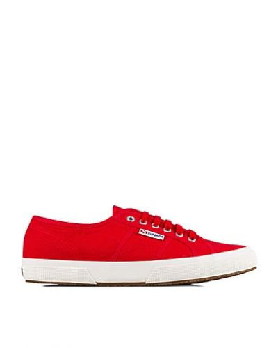 Till herr från Superga, en röd sneakers.