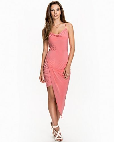 NLY One Cowl Neck Drape Dress