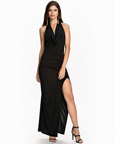 NLY One Cowl Neck Slit Dress