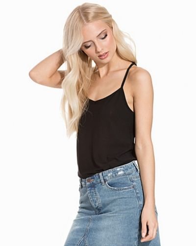 Crepe Strappy Cami Top New Look linnen till dam.