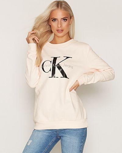 Crew Neck Hwk True Icon Calvin Klein Jeans sweatshirts till dam.