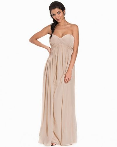 Nly Eve Crincle Chiffon Gown