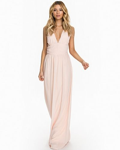 Club L Criss Cross Chiffon Maxi Dress