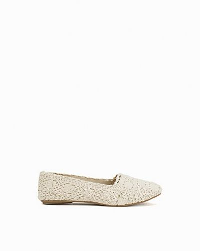 Nly Shoes Crochet Ballerina