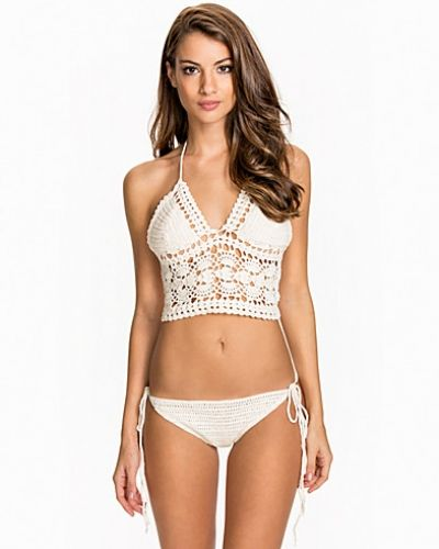 Hot Anatomy Crochet Bustier Top