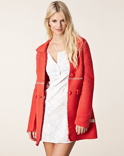 Odd Molly Crochet Grandma Coat