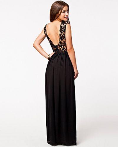 Club L Crochet Top Maxi Dress