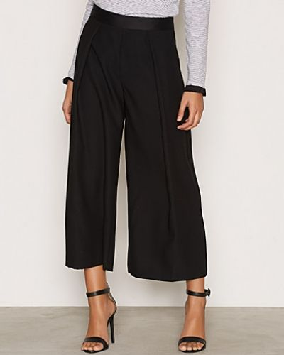 Byxa Cropped Wide Leg Trousers från Topshop