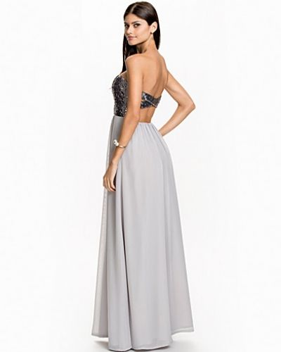 Nly Eve Cross Back Maxi Dress