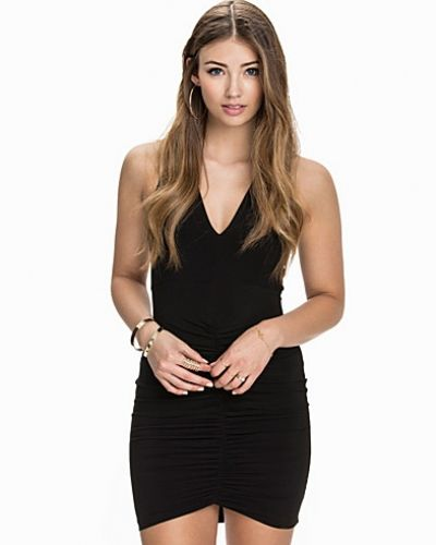 NLY One Cross Back Ruched Dress