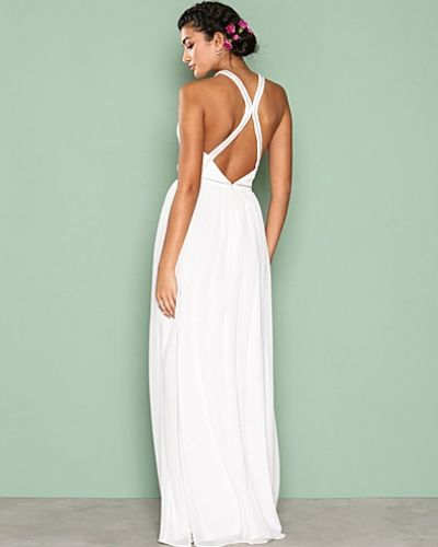 Nly Eve Crossed Back Goddess Gown