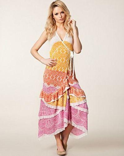 Odd Molly Crumple Long Wrap Dress