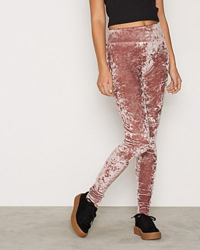 Crushed Velvet Leggings NLY Trend leggings till dam.