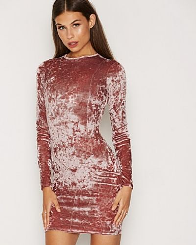 NLY Trend Crushed Velvet Mini Dress