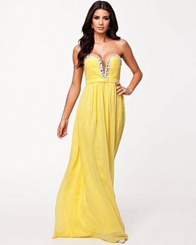 Nly Eve Crystal Trim Maxi Dress
