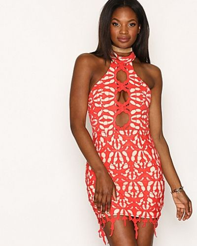 Cut Out Lace Mini Dress Love Triangle miniklänning till dam.