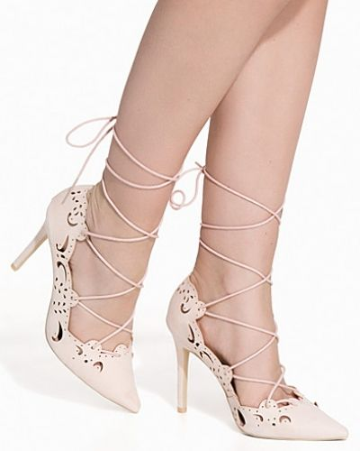 Högklackade Cut Out Lace Up Pump från Nly Shoes
