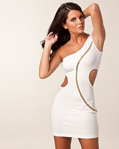 Elise Ryan Cut Out One Shoulder Dress