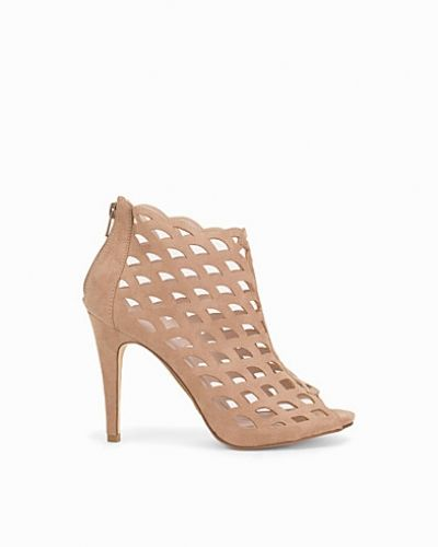 Bianco Cutout Party Stiletto