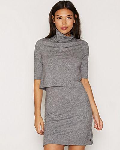 Jeansklänning Dacia Sweater LWK Dress från Calvin Klein Jeans