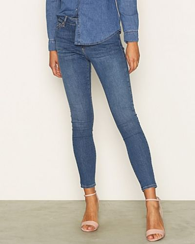 Slim fit jeans Dark Stone Leigh Jeans från Topshop