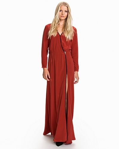 Dagmar Deborah Long Silk Dress