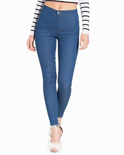 Topshop Deep Blue Joni Jeans