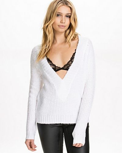 NLY Trend Deep Neck Spring Knit