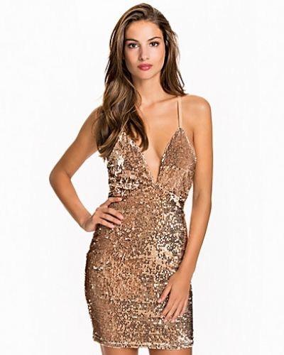 NLY One Deep V Sequin Dress