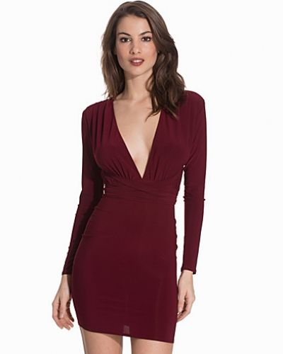NLY One Deep V Tie Dress