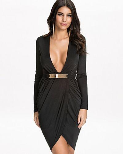 NLY One Deep Wrap Sleeve Dress