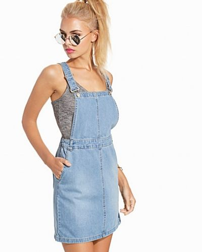 New Look Denim Pinfore Dress